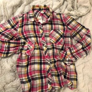 Gap Flannel Button Up Shirt